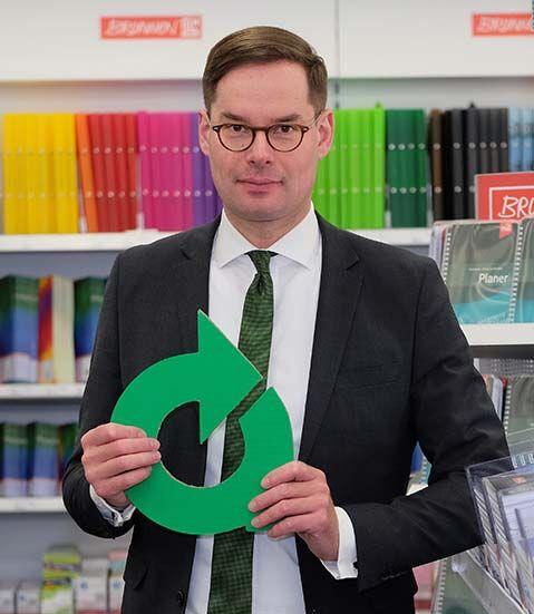 Stefan Mandt, in zweiter Generation für Mandt Büro